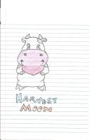 Harvest Moon Cow by Chesters-iffy-artxD