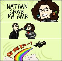 NATHAN GRAB MY HAIR by niitsvee