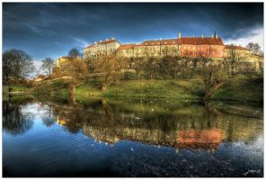 City pond 2 by Jurnov