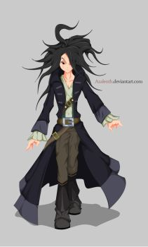 [AQW] Alpha Pirate (Colored2) by Azalenth
