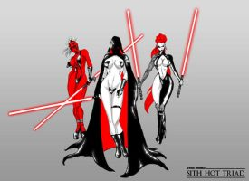 Sith Triad Chics by Chupanza
