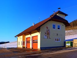 The firestation of Schoenegg by patrickjobst