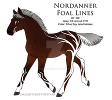 308 - Redesigned Nordanner Foal by Ikiuni