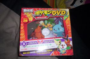 Japanese Pokemon DVD by laprasking