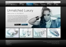 VieMonili Jewelry Website by dFEVER