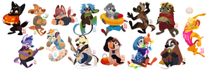 Lineless Minis by Aledles