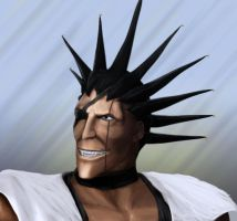 Bleach: Zaraki Kenpachi by Smoke2007
