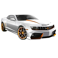 Chevrolet Camaro White by JayC79