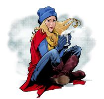 Supergirl by mcguan