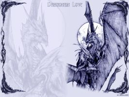 Dragonkin Love Expanded by AlphonseCapone