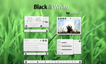 Black and White_For xwidget V1.1 by kenneth117