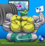Might's workout studies by OutlawMonkey