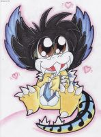 Cute lil Beethoven by Boltonartist