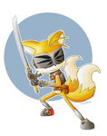 Tails the Knight by DigiHopeheart
