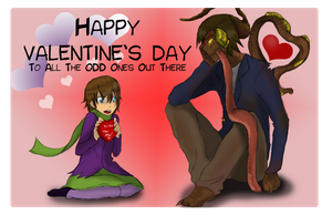 Happy Valentine's Day by SylarGrimm