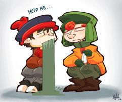 South Park - Help me by Joxem