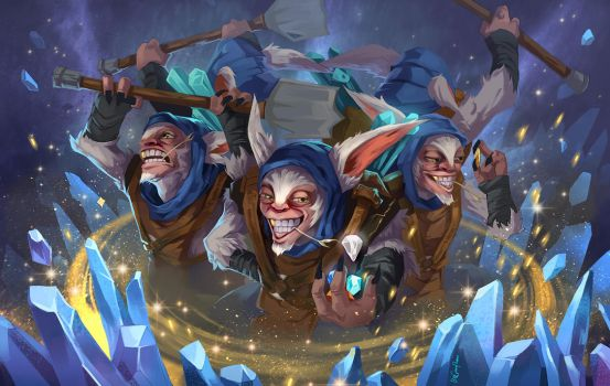 dota2 Meepo by biggreenpepper