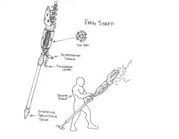 EMG Staff by suldae