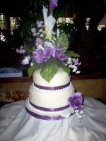 Pattis wedding cake by E by Ellee22