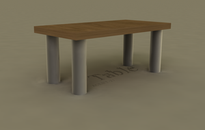 3D Table by Agent-Z7