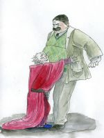 vernon dursley meets a wizard by gerre