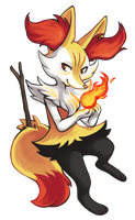 Braixen by tortaviso
