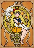 Sailor Venus by Draw-out-loud
