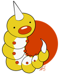 013 - Weedle by the-Mad-Hatress