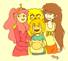 Adventure Time! by crazy-perry