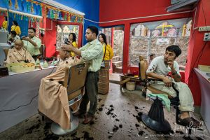 Traditional Barber Shop In Bhutan by josgoh