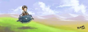 Flying Machine by mclelun
