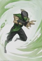 .MK1 Tribute - Reptile. by MadiBlitz