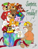 Happy Birthday Freddy by acla13