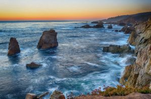 Garrapata State Park Coastline II by FeralWhippet