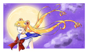 Sailor Moon by ravenchaser