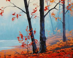 Autumn Leaves by artsaus