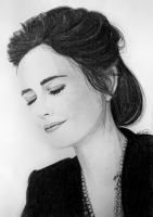 Eva Green by evionn