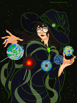 Witch of Space by 7Lisa