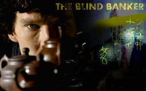 The Blind Banker Wallpaper by Miss-Catherine