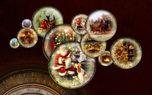 Christmas Bauble Widgets for your desktop by yereverluvinuncleber