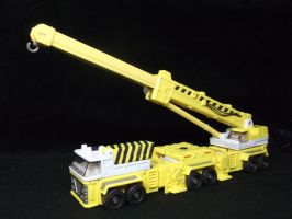 Transformers Micromaster Erector homage by forever-at-peace