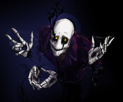 Gaster: fast sketch 14 by LucrataNexarii