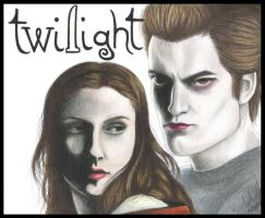 Twilight: Edward and Bella by carla-ng