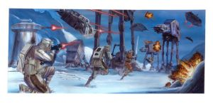 Hoth Battle by DavidRabbitte