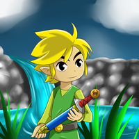 Toon Link by ArcticFox223