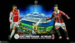 Ajax Amsterdam - AC Milan Champions League by jafarjeef