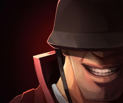 TF2 Soldier by biggreenpepper