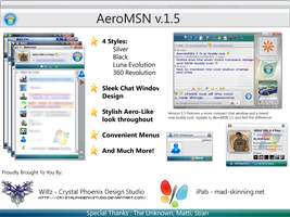 Aero MSN v.1.5 by CrystalPhoenixStudio