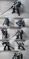 Custom Gunpla- Advanced Hazel Sniper Custom by Blayaden