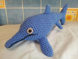 Theo the Ichthyosaur by kaelby